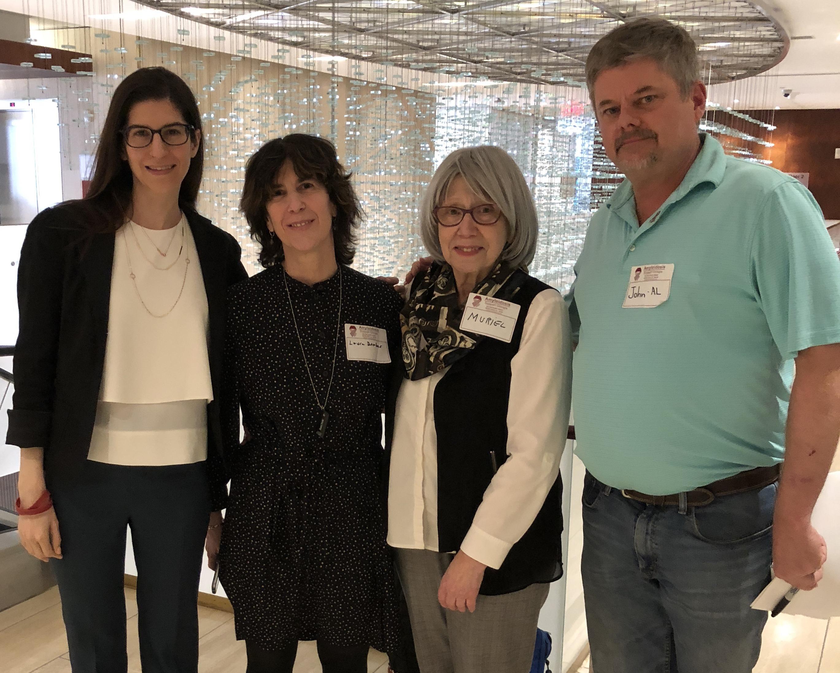 Dr  Cara Rosenbaum Hosts Amyloidosis Support Group at Weill